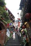 Jiufen street sight  Taipei  Taiwan . Stock Photo