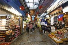 Jiufen street sight  Taipei  Taiwan . Stock Image