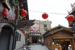 Jiufen street sight, Taipei, Taiwan Stock Image