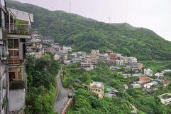 Jiufen Taiwan fotografering för bildbyråer