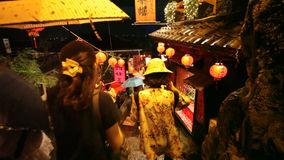 Jiufen, Taiwan stock footage