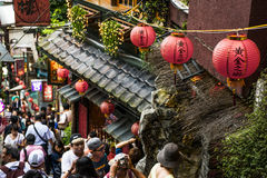 Jiufen, Taiwan. Royalty Free Stock Photos