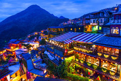 Jiufen, Taiwan. Stock Photo