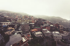 Jiufen, Taiwan, during midday in summer Stock Photos