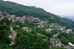 Jiufen, Taiwan. Jiufen is a mountain area in the Ruifang District of New Taipei City near Keelung, Taiwan Stock Photography