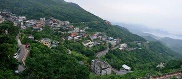 Jiufen, Taiwan. Jiufen is a mountain area in the Ruifang District of New Taipei City near Keelung, Taiwan stock image