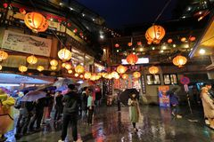 Jiufen, Taiwan lizenzfreies stockfoto