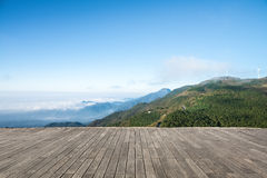 Jiugong mountain landscape Royalty Free Stock Images