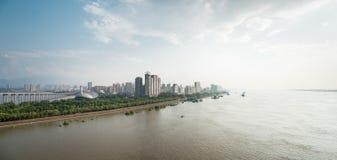 Jiujiang cityscape Royalty Free Stock Photo