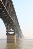 Jiujiang yangtze bridge Royalty Free Stock Images