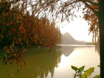 Zhaoqing, guangdong, China. Jiulong lake ecological park in zhaoqing, guangdong, China royalty free stock images