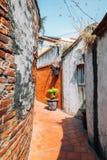 Jiuqu Lane old street in Lukang, Taiwan