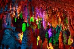 Jiuxiang cave Stock Image