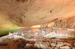 Jiuxiang China-Big square in Jiuxiang Stalactite Caves Stock Photo