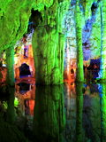 Jiuxiang Stalactite. Jiuxiang is a scenic area in Kunming , the capital of Yunnan province. It is famous for its caves, mountains, rivers, deep valleys, minority Stock Images