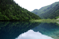 Jiuzhai风景 免版税库存图片