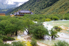 Jiuzhai谷 免版税库存照片