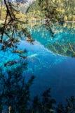 Jiuzhai dalnationalpark Arkivbild