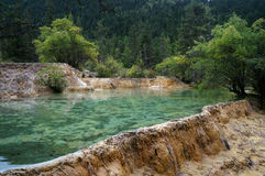Jiuzhai Valley Stock Photography