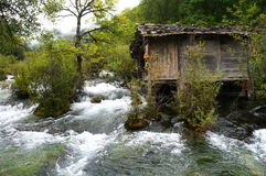Jiuzhai Valley Stock Images