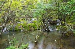 Jiuzhai Valley Royalty Free Stock Photography