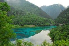 Jiuzhai valley2 Fotos de archivo libres de regalías