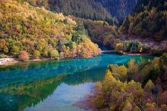 jiuzhaigou 18 Κίνας εθνικό κανένα πάρκο sicuan Στοκ Εικόνες