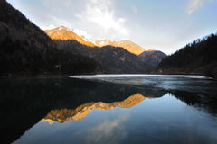 Jiuzhaigou Arrow Bamboo Lake Stock Images