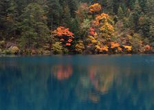 Jiuzhaigou, Chine Photographie stock