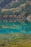 Jiuzhaigou -- das Paradies auf der Erde Lizenzfreies Stockbild