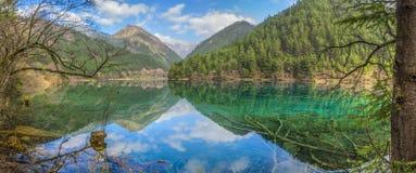 Jiuzhaigou dolina w prowincja sichuan, Chiny Obrazy Stock