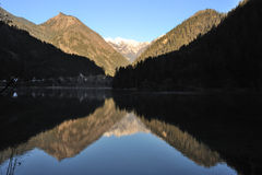 Jiuzhaigou Mirror Lake Stock Photography