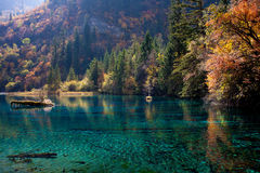 Jiuzhaigou National Park ,sicuan china. NO.13 Royalty Free Stock Photography