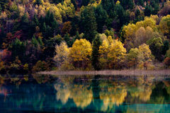 Jiuzhaigou National Park ,sicuan china. NO.15 Royalty Free Stock Photo