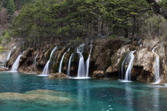 Jiuzhaigou National Park. Is a nature reserve in the north of Sichuan, a province in south western China Royalty Free Stock Image