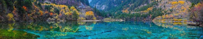 Jiuzhaigou National Park. In china Stock Photography