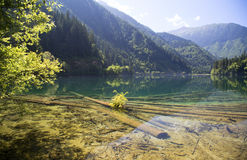 Jiuzhaigou National Park in China Stock Images