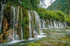 Jiuzhaigou National Park, China stock photography
