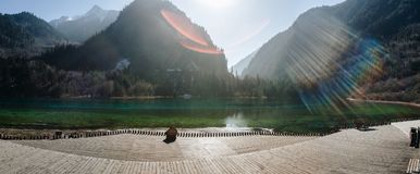 Jiuzhaigou Valley National Park China royalty free stock photos