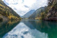 Jiuzhaigou national park royalty free stock photos
