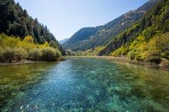 Jiuzhaigou national park Stock Image