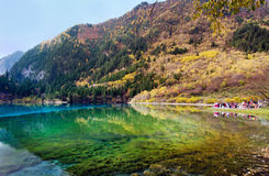 Jiuzhaigou National Park,Sichuan China Royalty Free Stock Photography