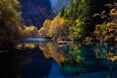 Jiuzhaigou Nationalpark ï ¼ sicuan chinaãNO.7 Stockfoto
