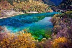 Jiuzhaigou Nationalpark ï ¼ sicuan Porzellan. NO.19 Stockbilder