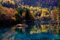 Jiuzhaigou Nationalpark ï ¼ sicuan Porzellan. NO.8 Stockbild