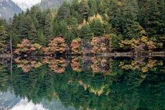 Jiuzhaigou Nationalpark Stockbild