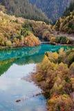 Jiuzhaigou Nationalpark Lizenzfreie Stockbilder