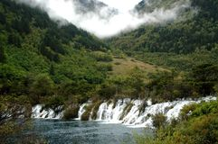 Jiuzhaigou scene 18 Royalty Free Stock Images