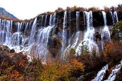 jiuzhaigou sichuan της Κίνας φθινοπώρου Στοκ Φωτογραφίες
