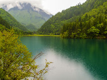 Jiuzhaigou Valley National park in China. Arrow Bamboo lake at Jiuzhaigou Valley National park in China stock image